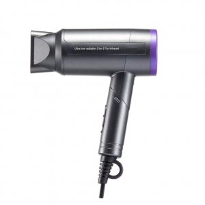 Bioceramic Far Infrared Without Radiation Hair Dryer 1000W Professional Ionic Hairdryer Powerful Salon Low Noise Blow Dryer