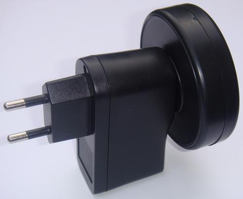 2-pin European plug – Helios3 geopathic stress neutraliser
