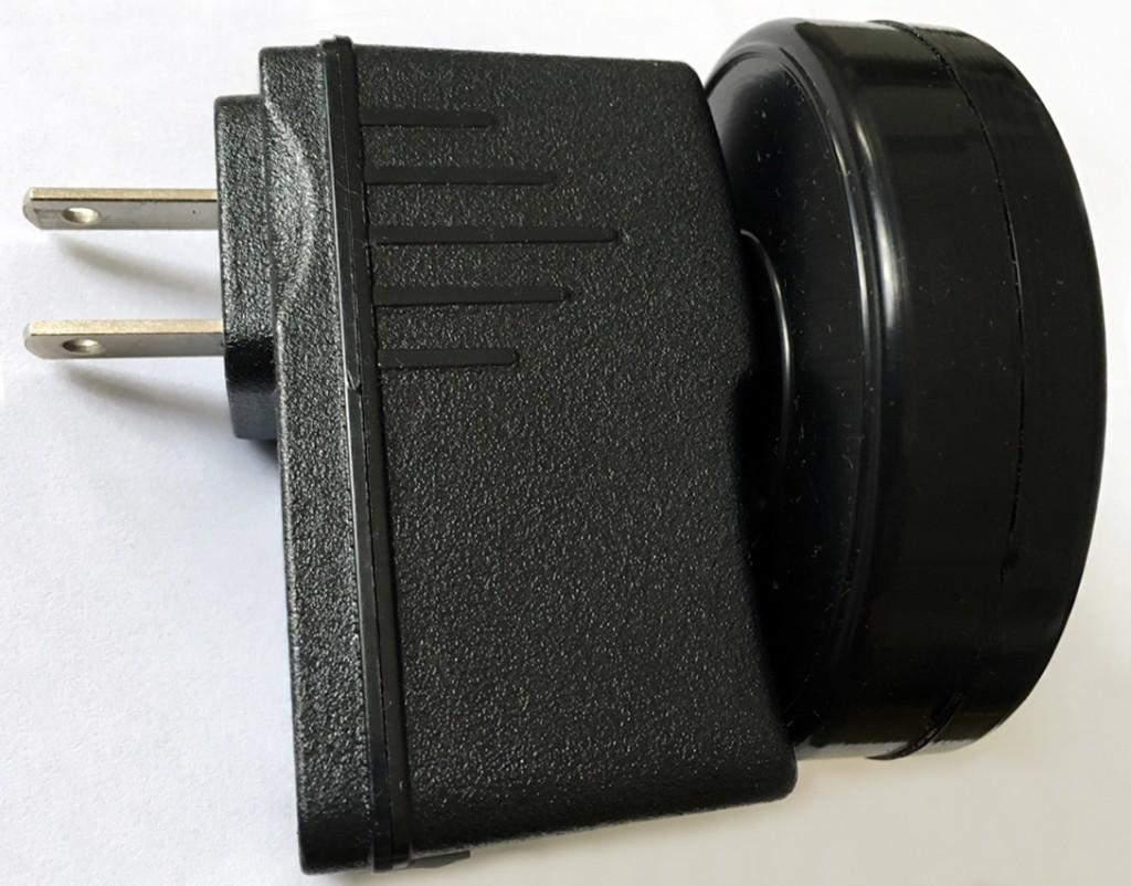 Helios3 US 2-pin plug – Helios3 geopathic stress neutraliser
