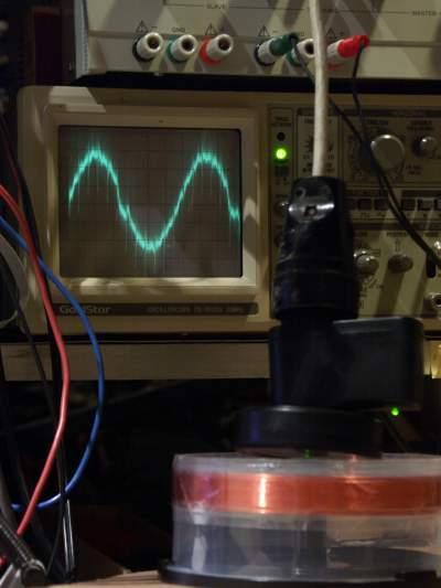 Schumann Resonance Wave of Helios3